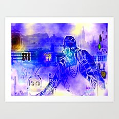 The Singer's Song Sung Art Print