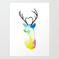 Dear Heart Art Print