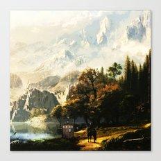 Tardis Art Abstract Painting Canvas Print