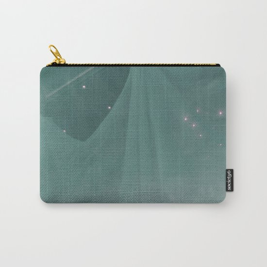 Green ghost Carry-All Pouch