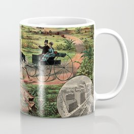 Distributing ship cargo of buggies Ohio to Australia Coffee Mug