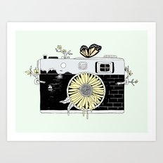 Captured Life Art Print