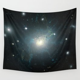 Dusty spiral galaxy Wall Tapestry