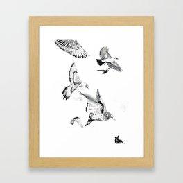 Extinction part3 Framed Art Print