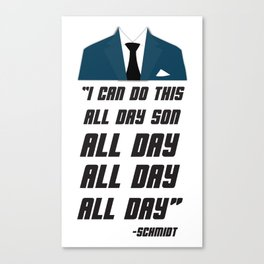 All Day | New Girl Canvas Print