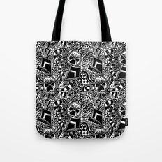 Theta Print Tote Bag