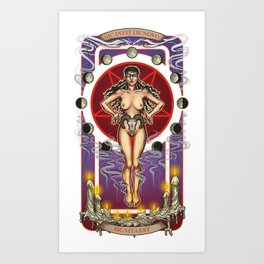 Sic Vita Est: A Monthly Sacrifice Art Print
