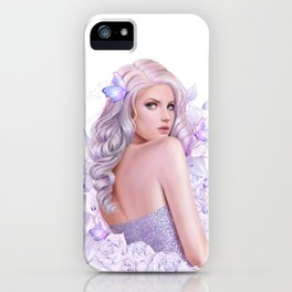 Lady Amethyst iPhone Case