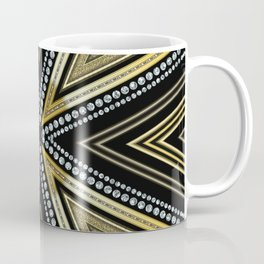 Glam Cross Star Coffee Mug