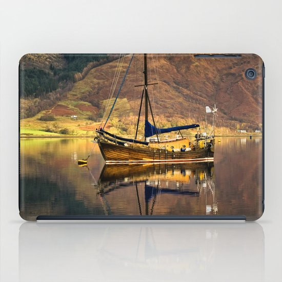Sailboat Reflections iPad Case