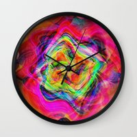 "tequila Wall Clocks featuring "" Tequila ""  by shiva camille"