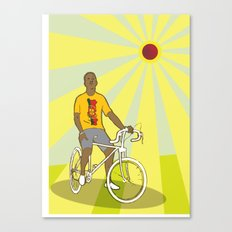 nice bike Canvas Print
