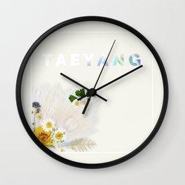 White Night Album - Taeyang Edition Wall Clock