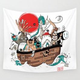 Ark's Miyazaki (version2018) Wall Tapestry