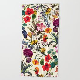 Magical Garden V Beach Towel