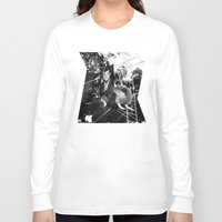 jfk Long Sleeve T-shirts featuring A Photograph of JFK on an Elephant by J.G.