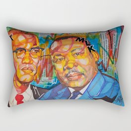 Malcolm X King Rectangular Pillow