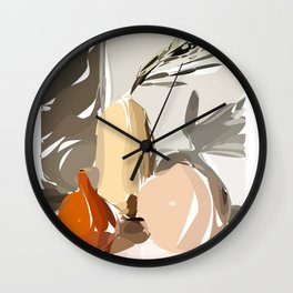 Still life_1 Wall Clock