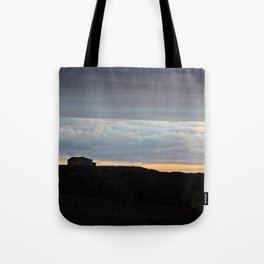 The Edge of Land Tote Bag