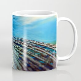 """Peacock Feathers"" Coffee Mug"