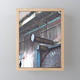 A Music Haven: Preservation Hall Framed Mini Art Print