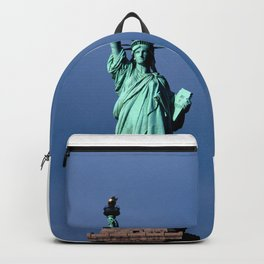 Statue Of Liberty Shines Her Spirit Backpack