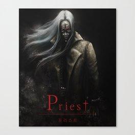 IVAN ISAACS - Priest fan art Canvas Print
