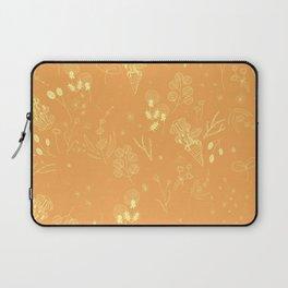 Flower Party (Orange) Laptop Sleeve