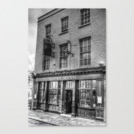 The  Gypsy Moth Pub Greenwich Canvas Print