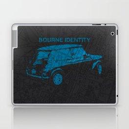 Bourne Map Laptop & iPad Skin