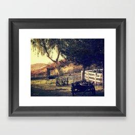 Early Morning Light Framed Art Print
