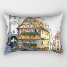 Rothenburg20150903 Rectangular Pillow