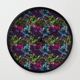 pattern_colors Wall Clock