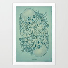 All the Pretty Flowers Art Print