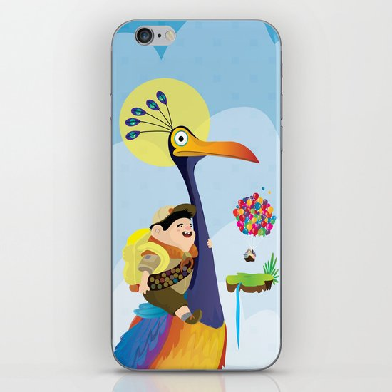 Kevin and russel iPhone & iPod Skin