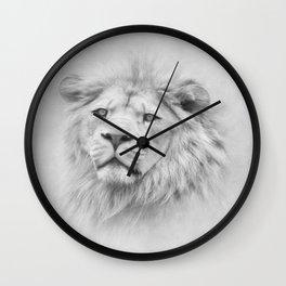 Barbary Lion Wall Clock