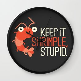 The Prawn Principle Wall Clock
