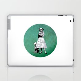 Two dalmatians - humor Laptop & iPad Skin