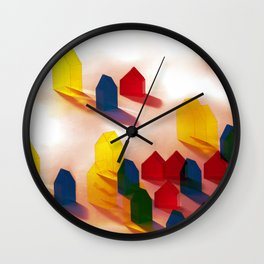 Village Sandstorm Wall Clock