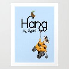 Pixar/Disney Wall-e Hang in There Art Print
