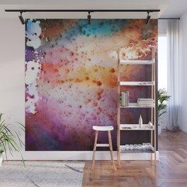Liquid rainbow Wall Mural