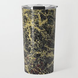 Brindisi black marble Travel Mug