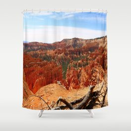 Sunset Point At  Bryce Canyon Shower Curtain