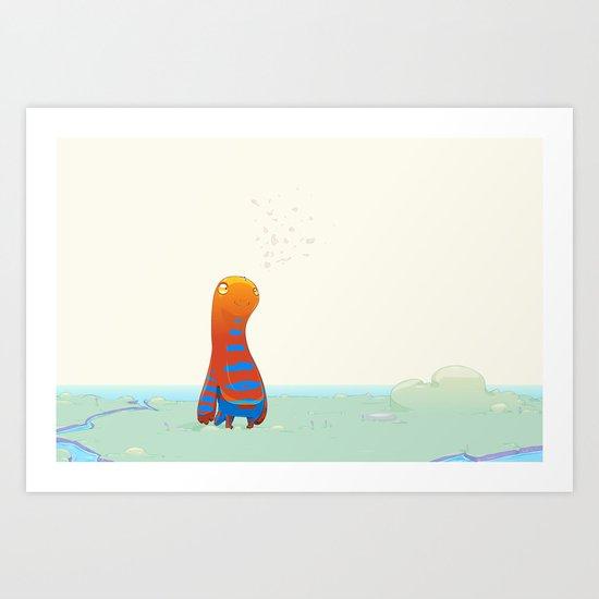 Herp Art Print