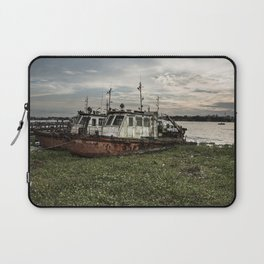 Old Police Boats Laptop Sleeve