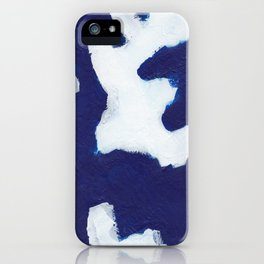 Kline Abstract iPhone Case