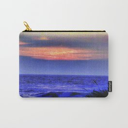 Ocean, carolers and a flower Carry-All Pouch