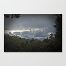 Brewing Storm  Canvas Print