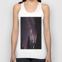 milky way Tank Tops featuring Milky Way by Holly O'Briant