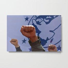 peaceful protest Metal Print